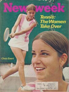 Chris Evert on Newsweek 1972