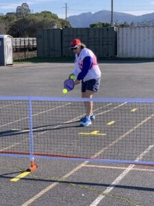 Pickleball backhand