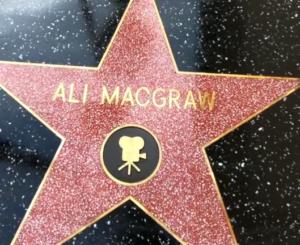 Ali Macgraw's Star